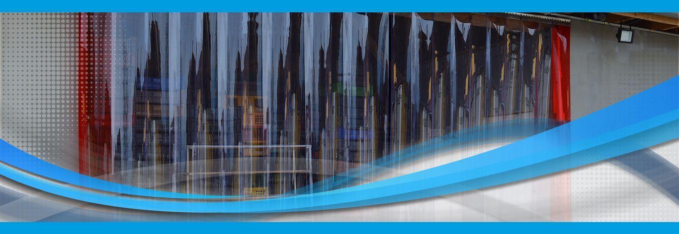 PVC szalagfüggönyök, hőfüggönyök gyártása