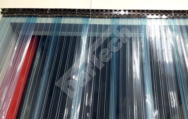 ipari PVC szalagfüggönyök