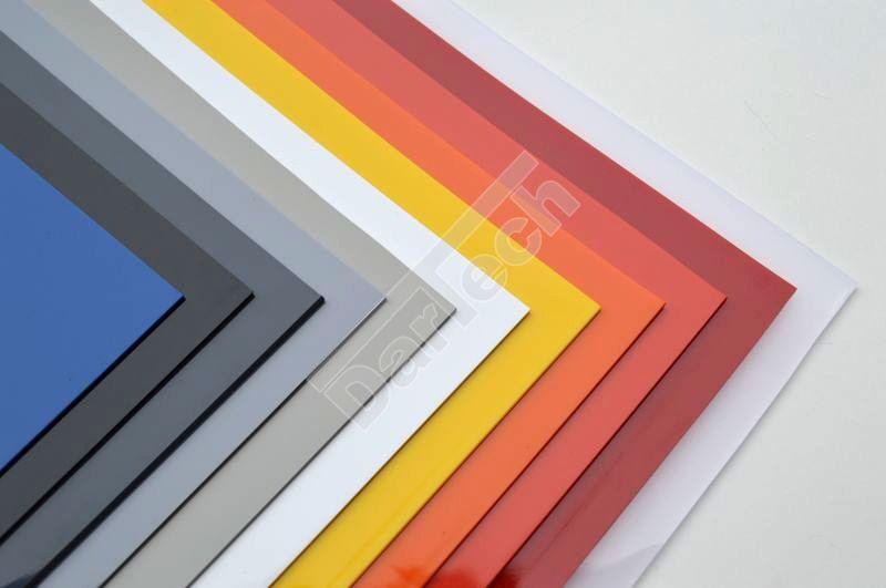 Nem átlátszó PVC lemezek