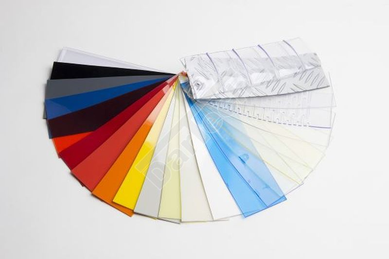 PVC lemezek színskálája