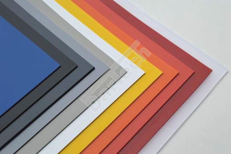 Színes ipari PVC lemezek