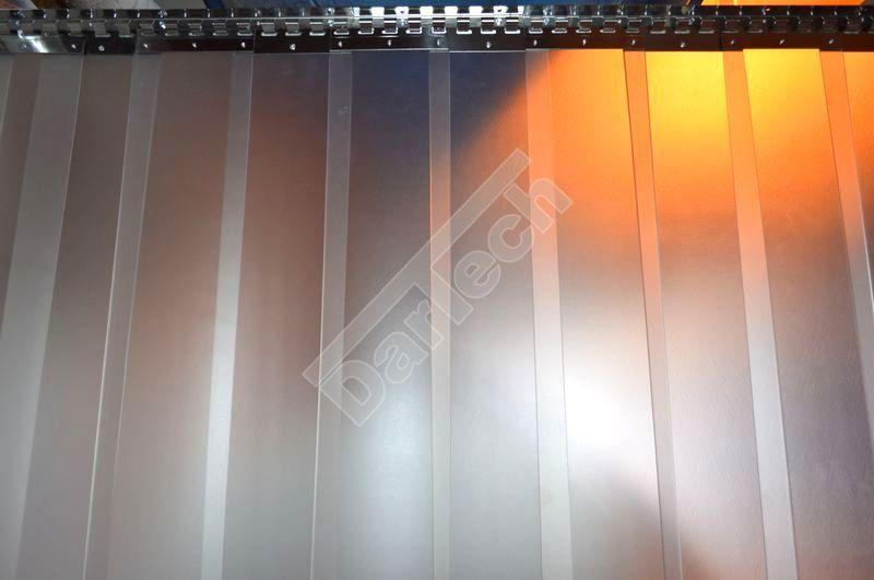 Áttetsző PVC szalagfüggöny hőfüggönyök