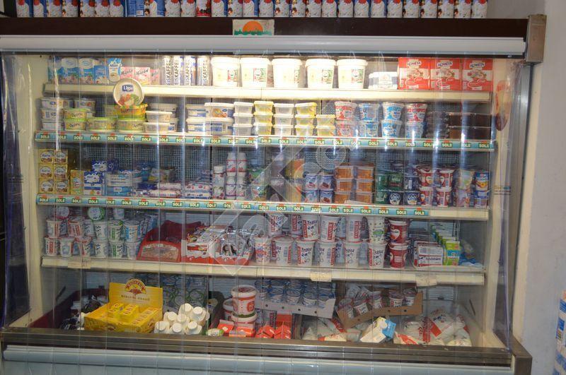 Hűtőpult hőszigetelése PVC hőfüggönnyel