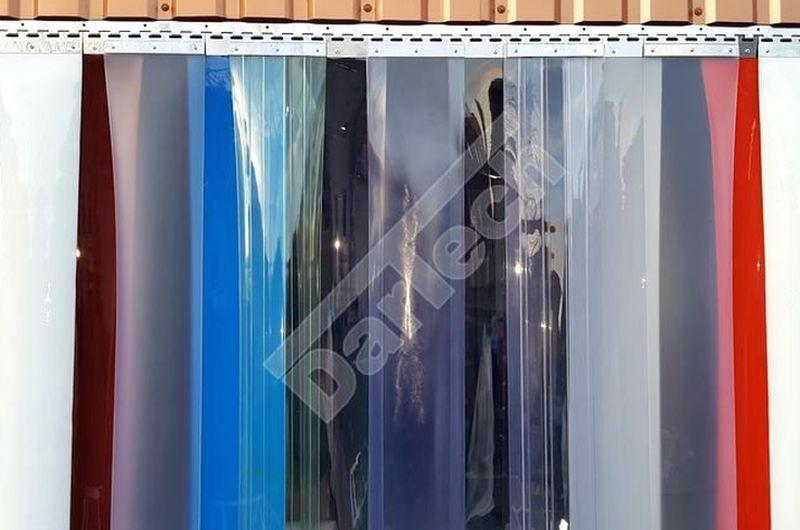 színes ipari PVC szalagfüggönyök